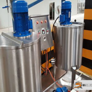 Complete Twin Slurry Mixing Station