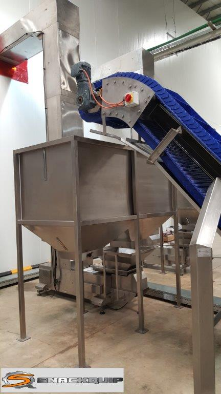 Double Bulk Bag Off Hopper Bin